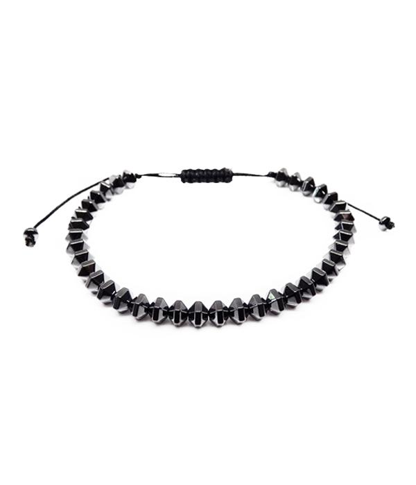 hematite grey bracelet