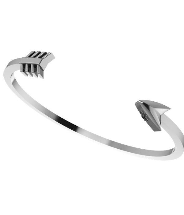 Silver Arrow Cuff