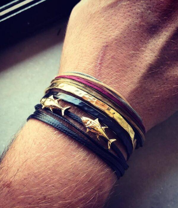 Gold-bracelet-set