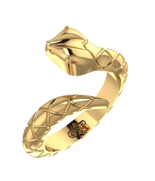 Φιδι δαχτυλιδι Χρυσο