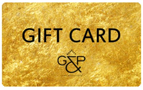 GIFT CARD – ΔΩΡΟΚΑΡΤΑ G&P JEWELLERY