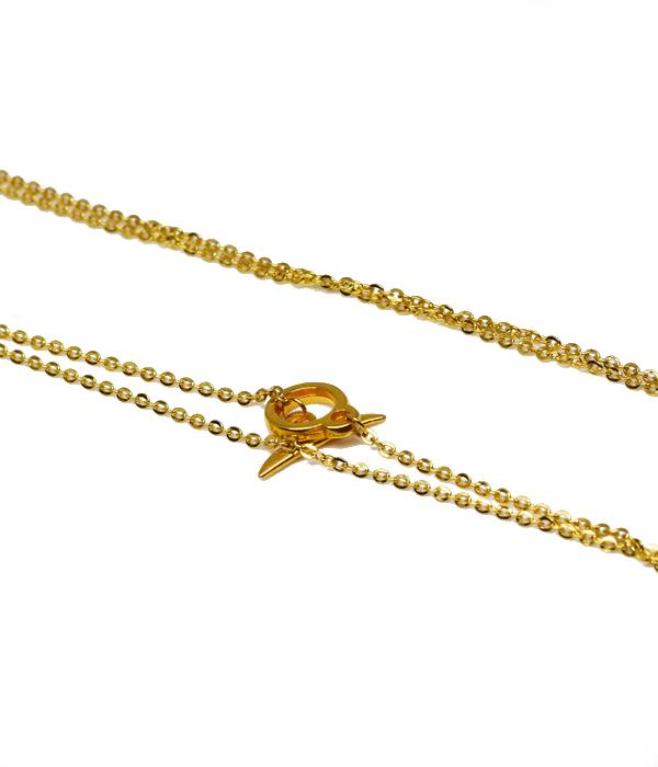 Χρυσή αλυσίδα για Κρεμαστά & Βραχιόλια με κούμπωμα Τ