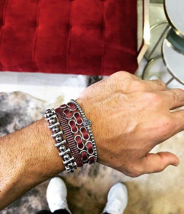 Red Bracelet Set