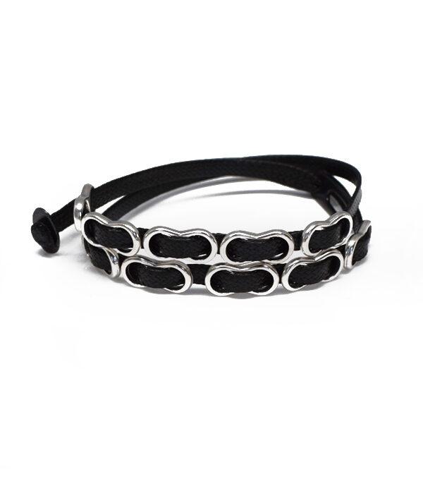 black honeycomb bracelet