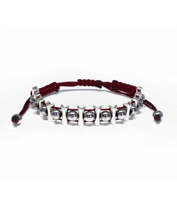 bordo bracelet with silver elements