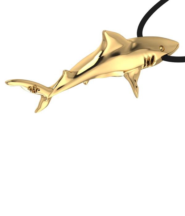 κρεμαστο χρυσος καρχαριας
