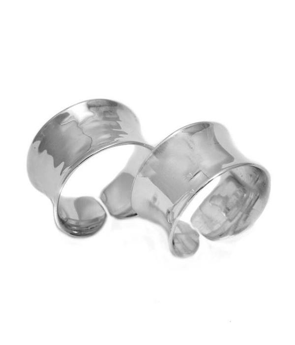 Σφυρήλατο Δαχτυλίδι από Ασήμι 925