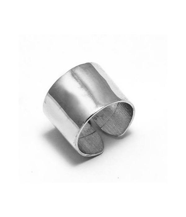 Δαχτυλίδι γυαλιστερό Σωλήνας από Ασήμι 925