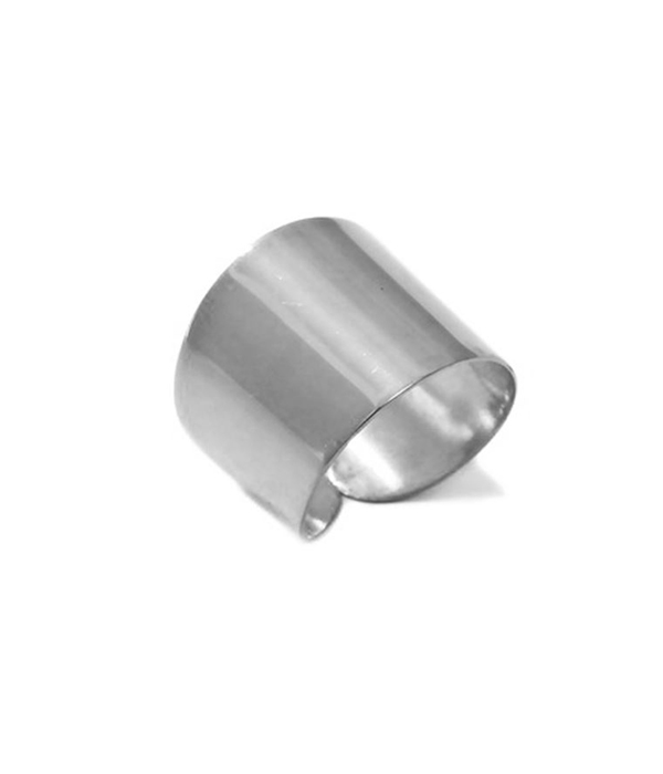 Δαχτυλίδια γυαλιστερός Σωλήνας από Ασήμι 925 & βραχιόλια σε λεπτή γραμμή
