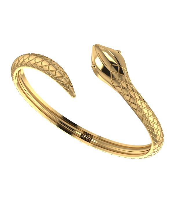 Χειροπέδα Χρυσό Φίδι