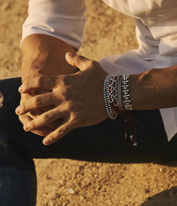 Handmade slim line bracelets