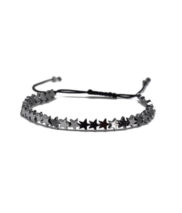 Silver Star Bracelets