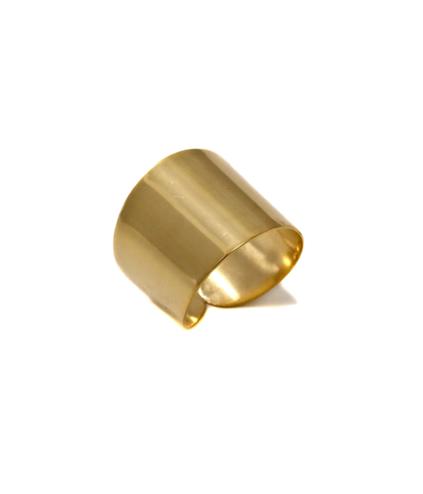 Shiny Tube σε χρυσό χρώμα από ασήμι 925