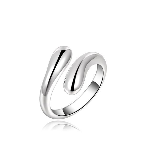 Χειροποίητο ασημένιο 925  Δαχτυλίδι Teardrop