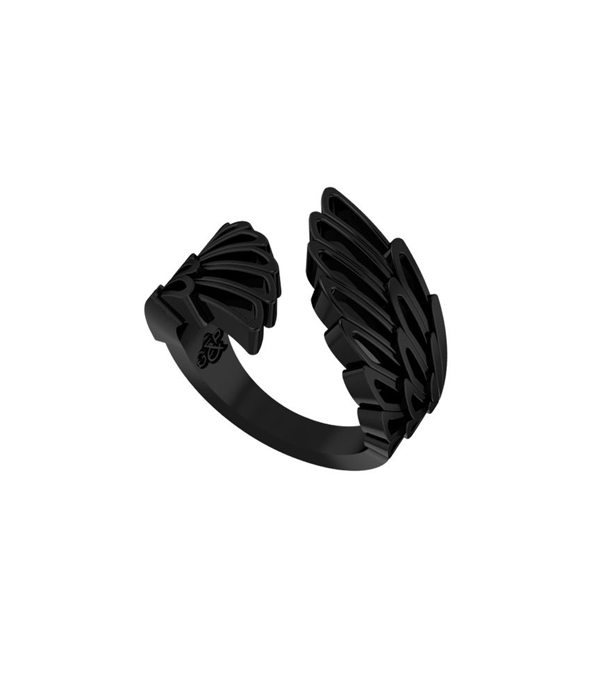 black wing ring