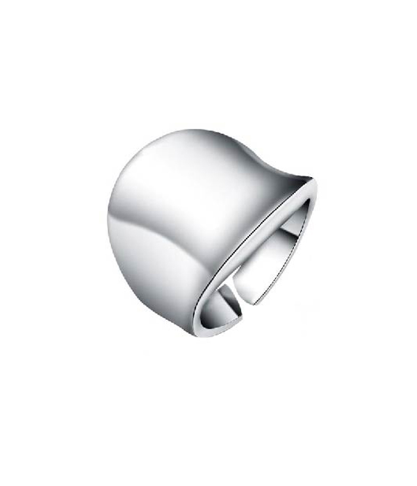 Silver wave ring 925