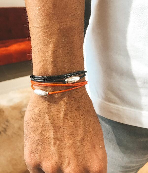 5 Cords bracelet 925