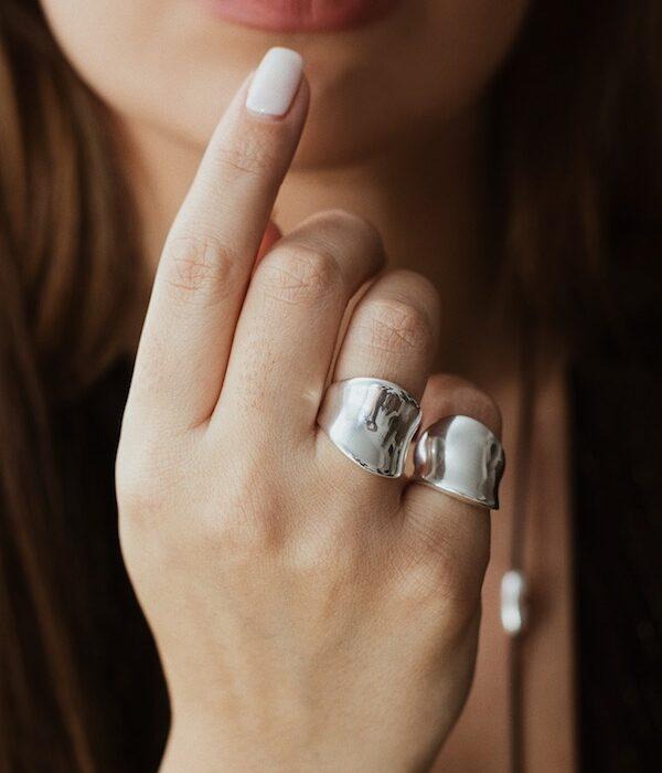 Δαχτυλίδι Silver Shiny Wave