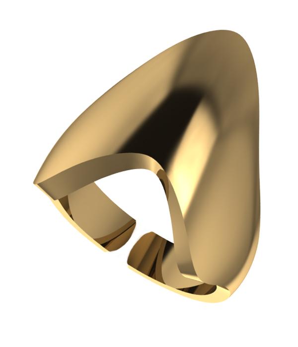 Δαχτυλίδι Gold Armour (Silver 925)