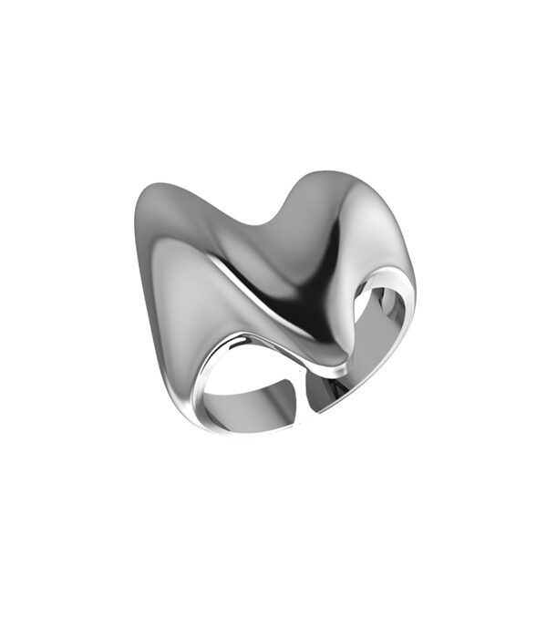 Silver Heart Ring 925