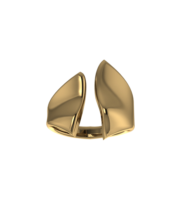 Gold Wind Ring 925
