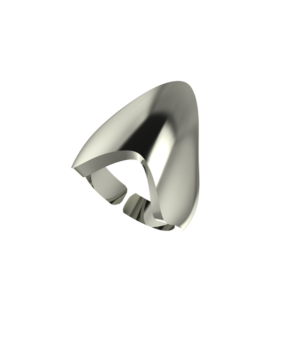 Armour Ring Silver 925