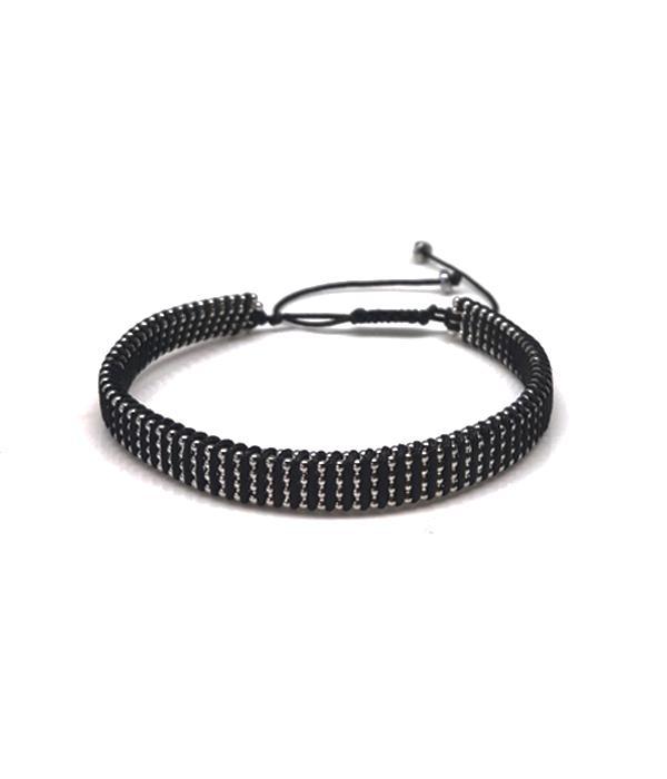 Silver Knoted bracelet