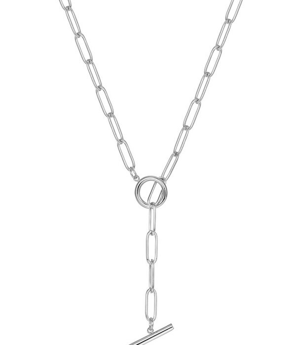 Silver Cable Stainless Necklace 16mm