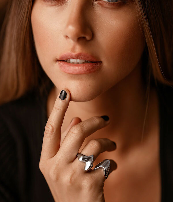 Heart & Armour Rings 925