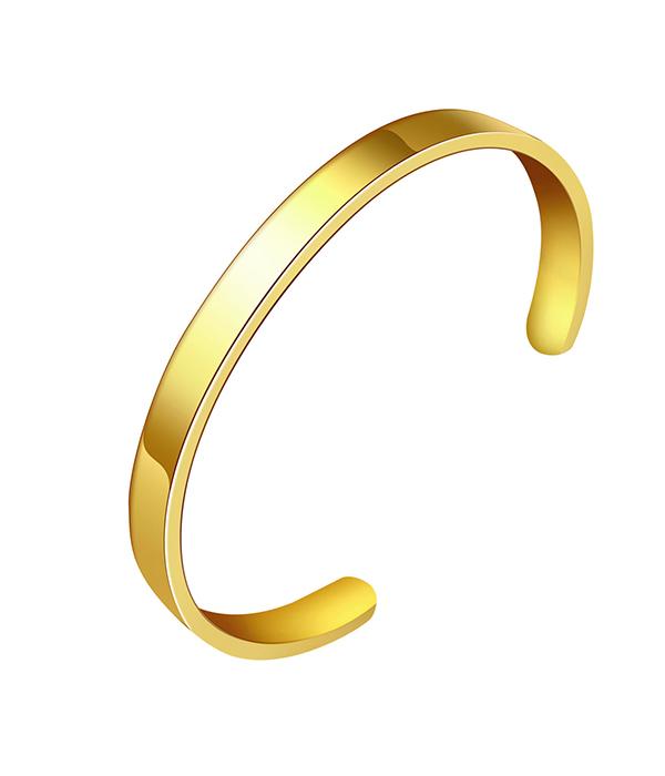 Βραχιόλι Gold Polished Athena (Stainless Steel)