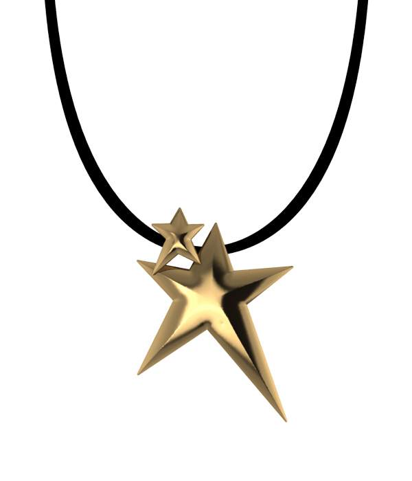 Double Star Gold Plated