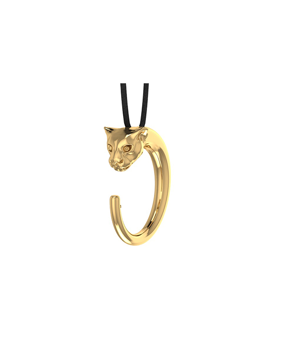 Panther Necklace Gold plated
