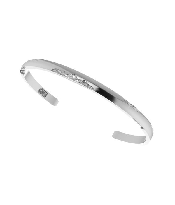 Shard Silver Cuff