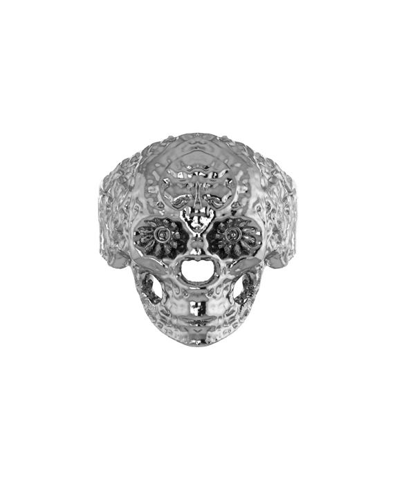 Silver Skull RIng 925