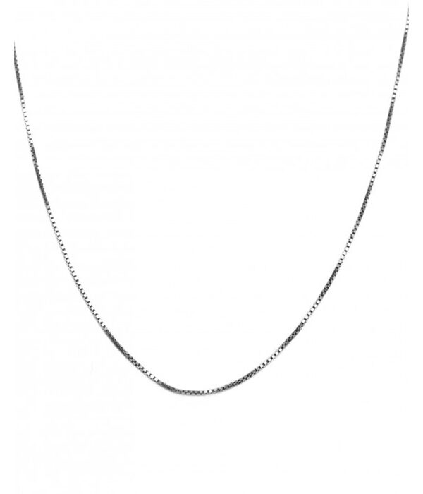 Silver Venetian Necklace stainless