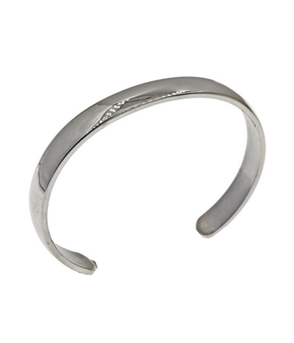 Silver Polished Maverick Cuff