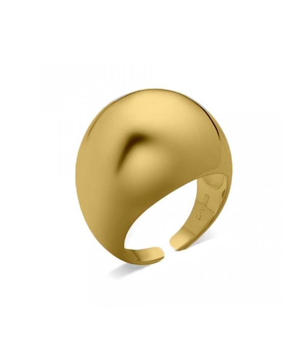 Δαχτυλίδι Gold Sonora 24K (Silver 925)
