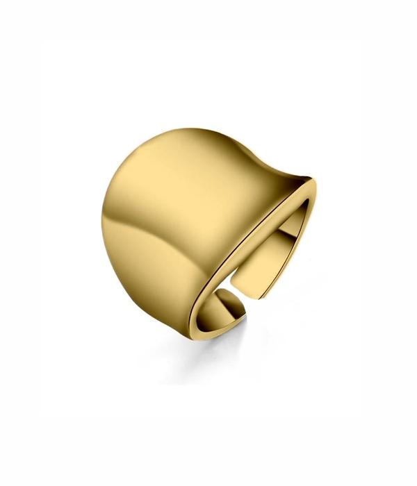 Δαχτυλίδι Gold Wave 24K (Silver 925)