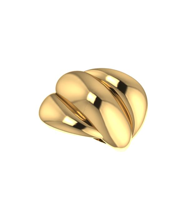 Δαχτυλίδι Gold Valencia (Silver 925) Gold