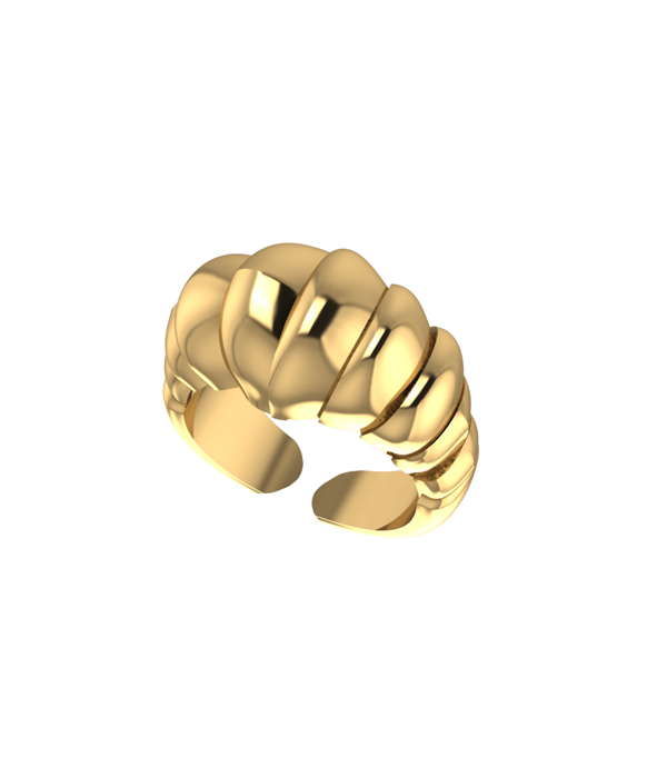 Gold Odessa Rings 925