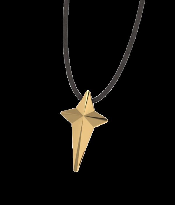 Mini Gold Cross Necklace
