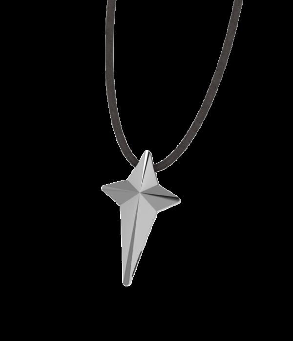 Mini Silver Cross Necklace