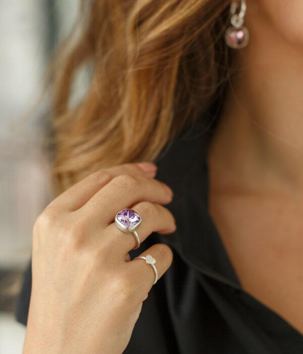 'IRIS' ring handmade