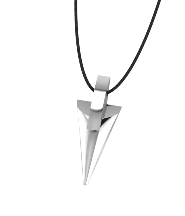 Silver Lance Necklace