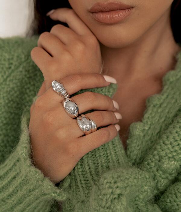 Silver Rings Valencia Odessa & Sonora