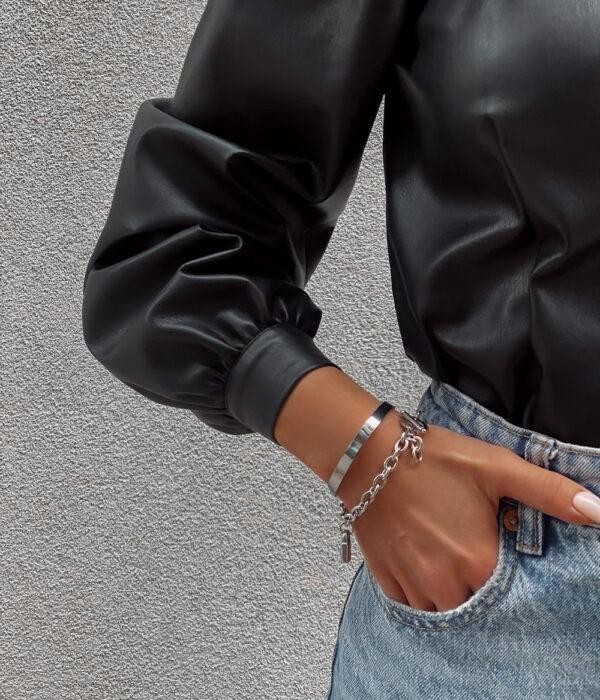 ATHENA X PADLOCK silver bracelets