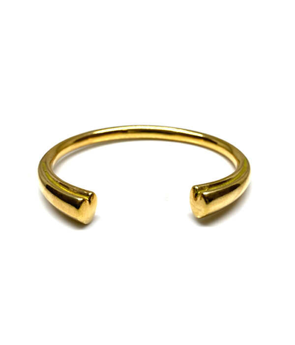 Gold Shape Hearts bracelet