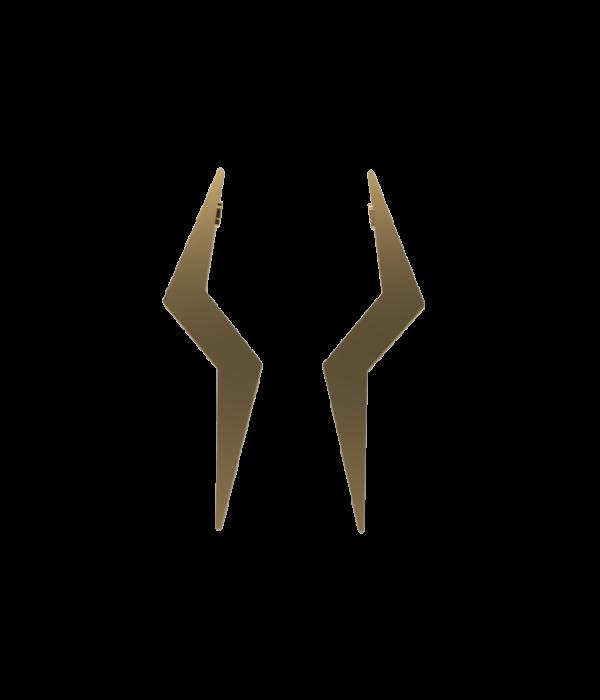 Gold Zeus Earrings