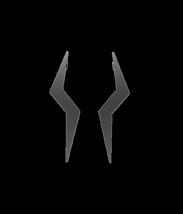 Silver Zeus Earrings