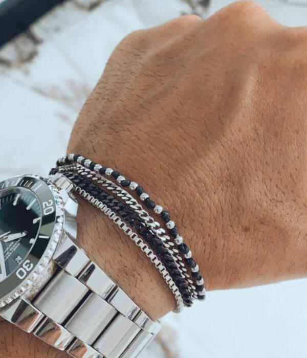 Slim line bracelet chains